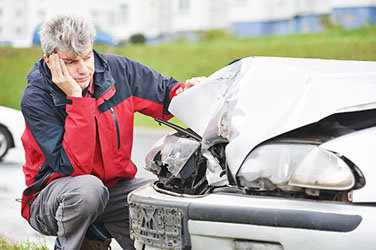 car accident lawyers, man in car accident, png
